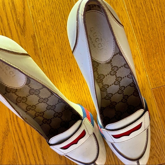Gucci 'Lifford' Penny Loafer pumps